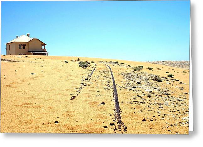 Greeting Card featuring the photograph Ghost Town by Riana Van Staden