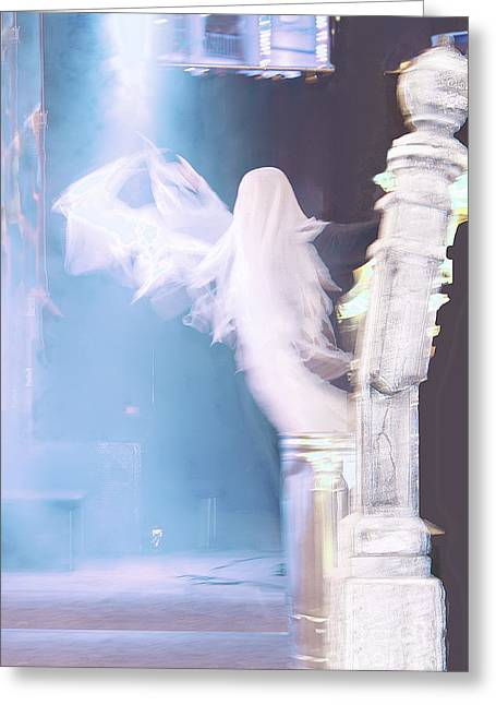 Ghost Greeting Card by Viktor Savchenko