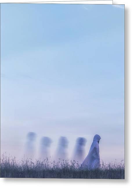 Ghosts Greeting Card by Joana Kruse