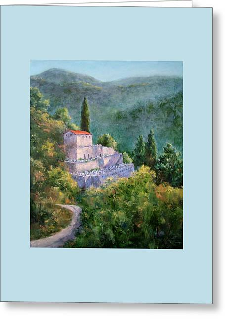 Ghosts Of The Peloponnese Greeting Card by Jill Musser