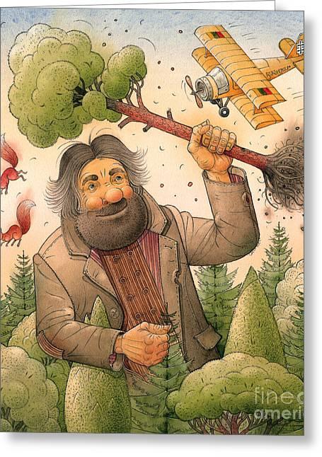 Giant Greeting Card by Kestutis Kasparavicius