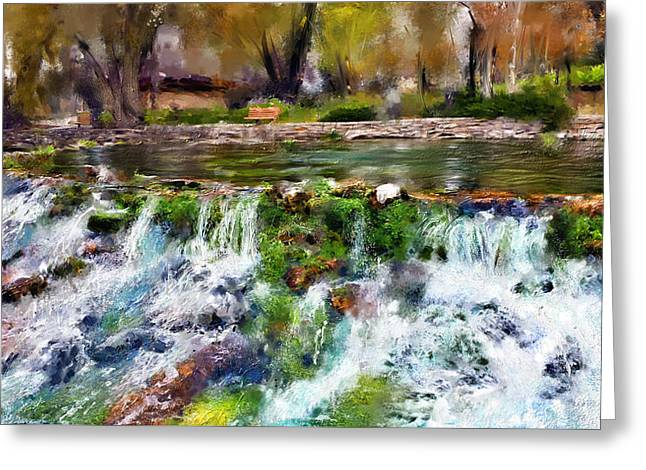 Giant Springs 1 Greeting Card