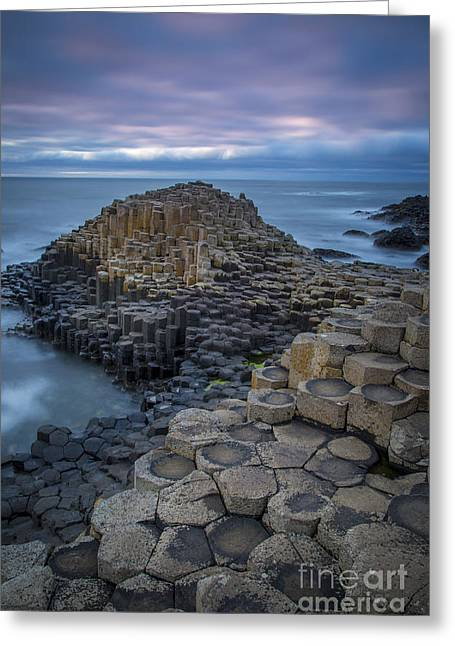 Giant's Causeway Greeting Card by Brian Jannsen