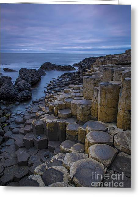 Giant's Causeway II Greeting Card by Brian Jannsen