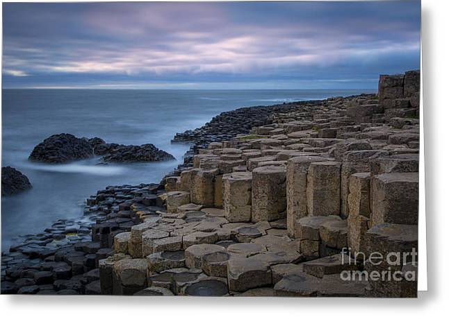 Giant's Causeway IIi Greeting Card by Brian Jannsen