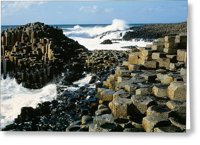 Giants Causeway, Ireland Greeting Card by Panoramic Images