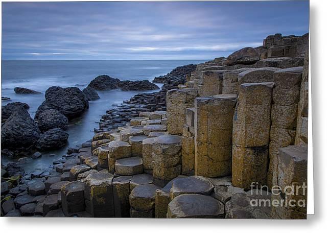 Giant's Causeway - N. Ireland Greeting Card by Brian Jannsen