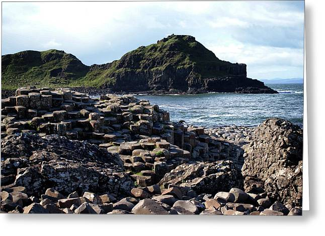 Giant's Causeway, Northern Ireland. Greeting Card