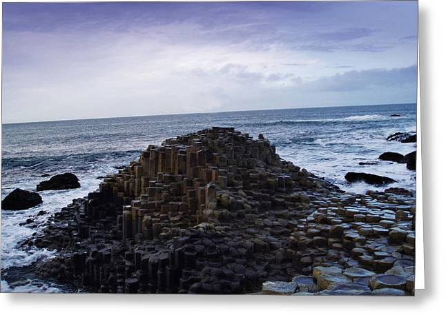 Giant's Causeway Greeting Card by Pelo Blanco Photo