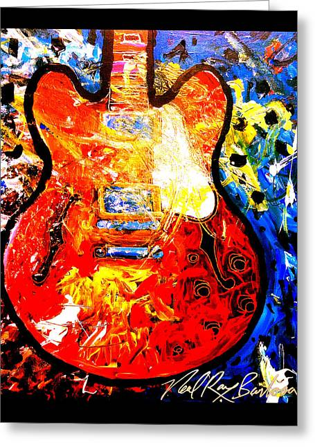 gibson ES-335 Greeting Card