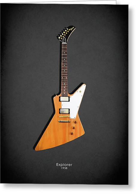 Gibson Explorer 1958 Greeting Card
