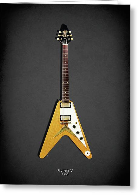 Gibson Flying V Greeting Card