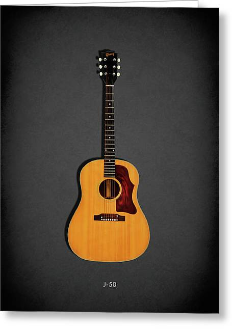 Gibson J-50 1967 Greeting Card