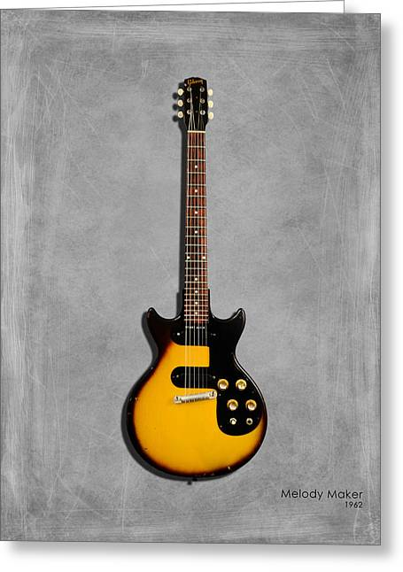 Gibson Melody Maker 1962 Greeting Card