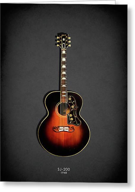 Gibson Sj-200 1948 Greeting Card
