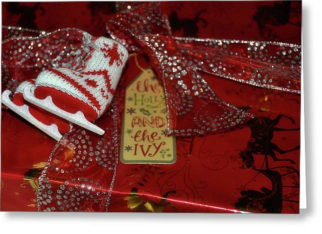 Gift Giving Greeting Card by JAMART Photography