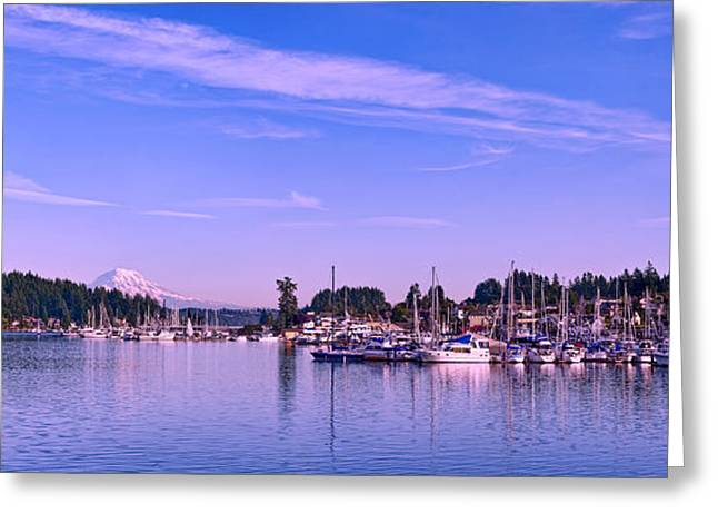 Gig Harbor Bay Greeting Card
