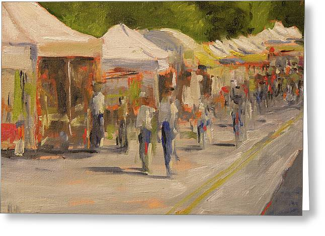 Gig Harbor Festival Greeting Card by Mary McInnis