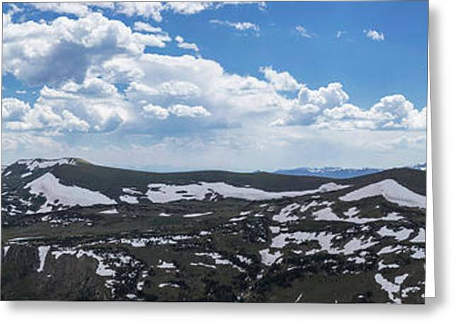 Gigapan Rocky Mountain National Park  Greeting Card