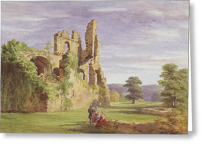 Gight Castle, 1851 Greeting Card by James Giles