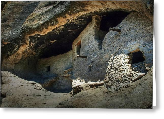 Gila Cliff Dwellings Greeting Card