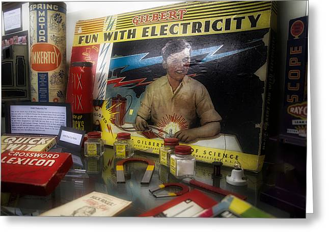 Gilbert Electricity Science Kit Greeting Card