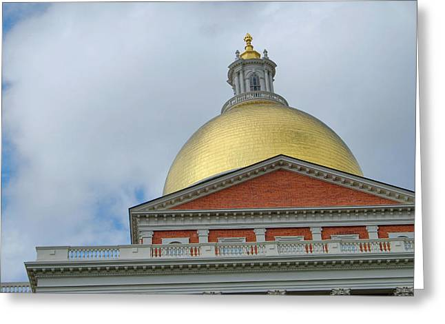 Gilded Dome Greeting Card by JAMART Photography