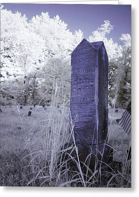 Gillespie's Headstone Greeting Card