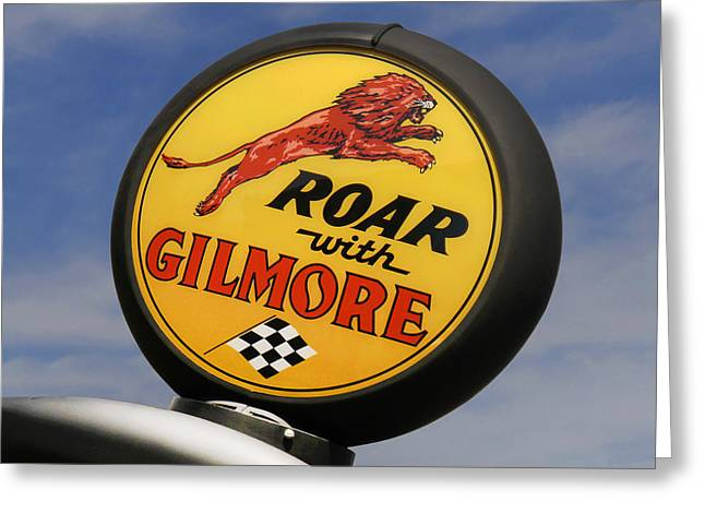 Gilmore Gas Globe Greeting Card