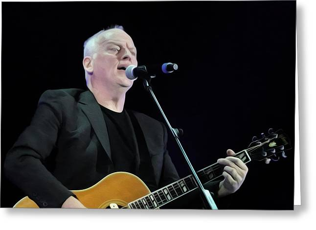 Gilmour #023 By Nixo Greeting Card
