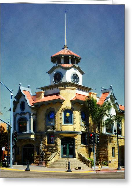 Gilroy - Small Town America Greeting Card by Glenn McCarthy Art and Photography