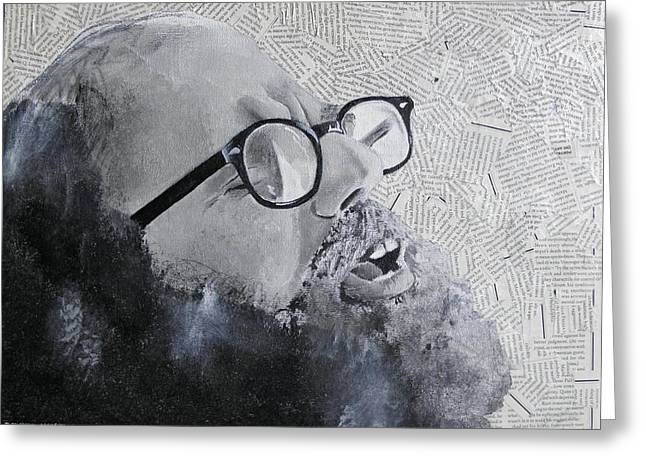 Ginsberg Greeting Card by Ben Jackson