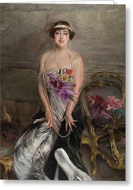 Giovanni Boldini Greeting Card