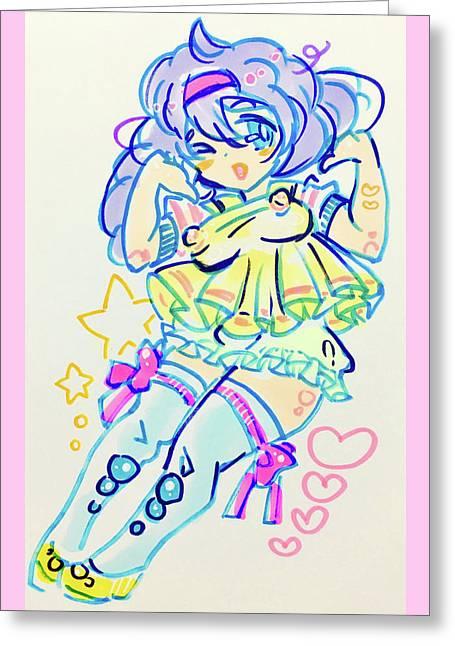 Girl04 Greeting Card