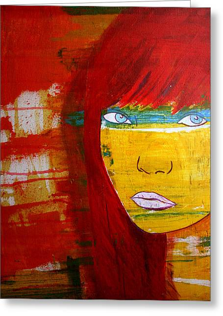 Girl6 Greeting Card
