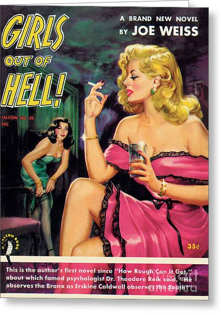 Girls Out Of Hell Greeting Card