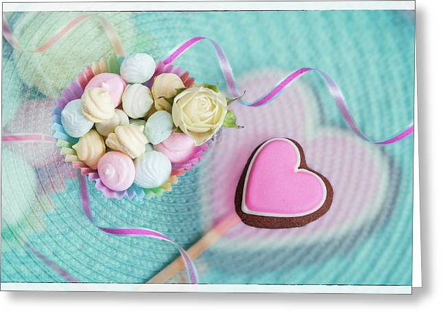 Give A Little Sweet Love   Greeting Card