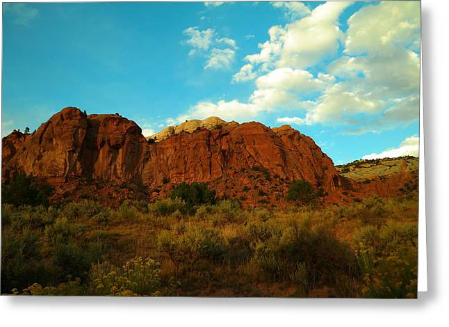 Give Me New Mexico Greeting Card by Jeff Swan