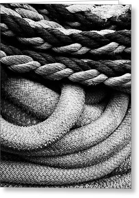 Give Them Some Rope Greeting Card by Skip Hunt