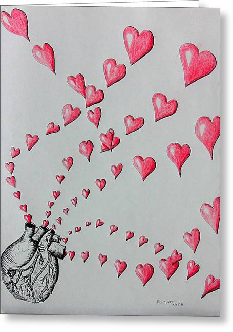 Give Your Love Greeting Card