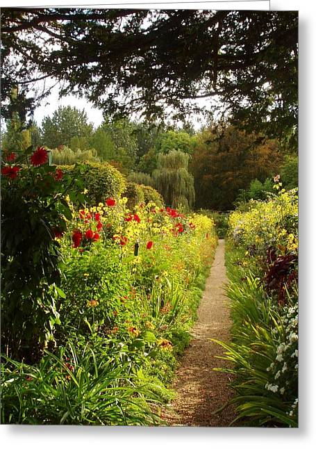 Giverny I Greeting Card by Wendy Uvino