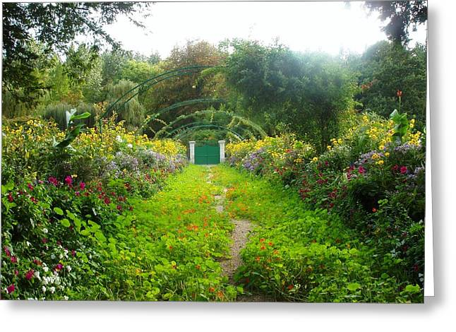 Giverny II Greeting Card by Wendy Uvino