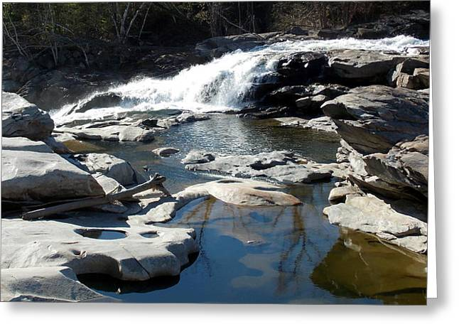 Glacial Potholes At Shelburne Falls  Greeting Card by Catherine Gagne