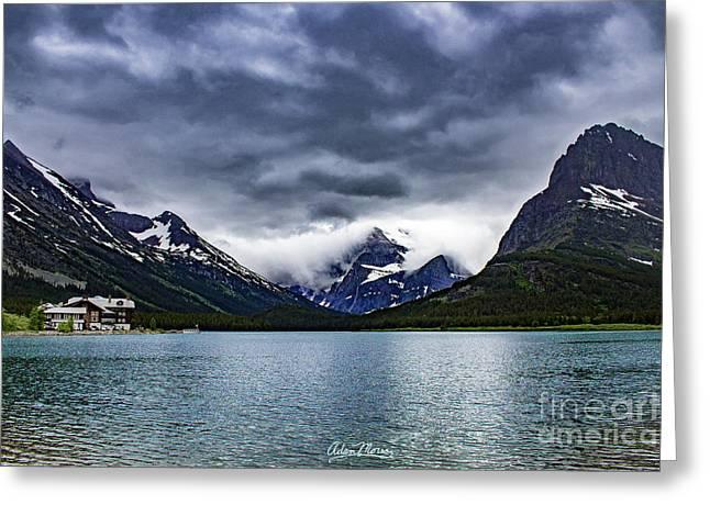 Glacial Getaway Greeting Card