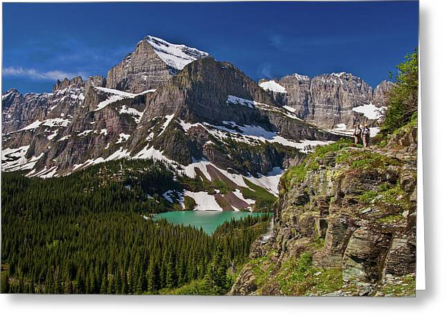 Glacier Backcountry 2 Greeting Card