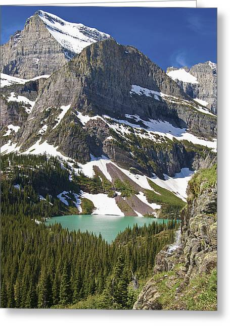 Glacier Backcountry Greeting Card