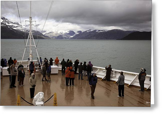 Glacier Bay - Alaska Greeting Card