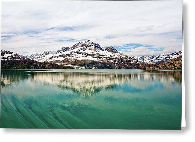 Glacier Bay In Alaska Greeting Card