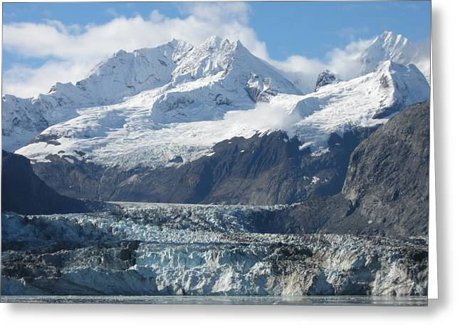 Glacier Bay Greeting Card by Quwatha Valentine
