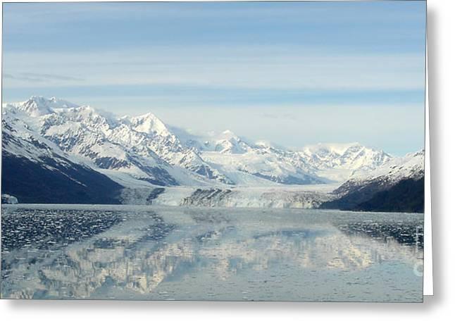 Glacier Bay Reflections Greeting Card by Susan Lafleur